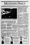 Mustang Daily, January 23, 1990