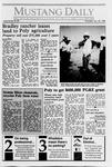 Mustang Daily, January 25, 1990