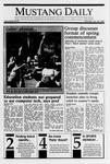 Mustang Daily, January 29, 1990