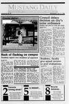 Mustang Daily, January 31, 1990