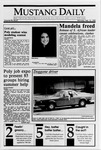 Mustang Daily, February 12, 1990