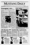 Mustang Daily, March 2, 1990