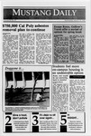 Mustang Daily, March 14, 1990