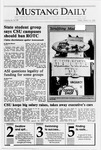 Mustang Daily, March 16, 1990