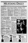 Mustang Daily, April 9, 1990