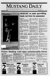 Mustang Daily, April 12, 1990
