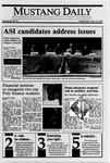 Mustang Daily, April 18, 1990