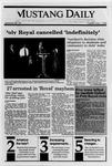 Mustang Daily, May 1, 1990