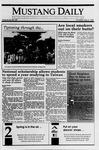 Mustang Daily, May 3, 1990