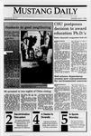 Mustang Daily, May 7, 1990