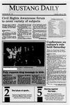 Mustang Daily, May 8, 1990