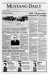 Mustang Daily, May 18, 1990