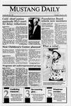 Mustang Daily, May 22, 1990