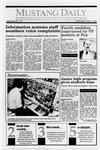 Mustang Daily, May 23, 1990