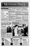 Mustang Daily, May 24, 1990