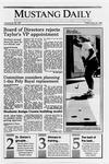 Mustang Daily, May 25, 1990