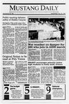 Mustang Daily, May 30, 1990