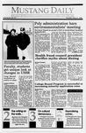 Mustang Daily, May 31, 1990