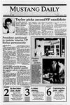 Mustang Daily, June 1, 1990