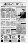 Mustang Daily, June 4, 1990