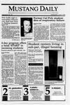 Mustang Daily, June 6, 1990