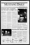 Mustang Daily, September 26, 1990