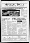 Mustang Daily, October 8, 1990
