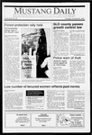 Mustang Daily, October 25, 1990