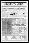 Mustang Daily, October 30, 1990