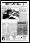 Mustang Daily, November 1, 1990