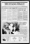 Mustang Daily, November 2, 1990