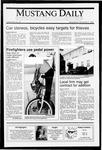 Mustang Daily, November 7, 1990