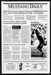 Mustang Daily, November 14, 1990