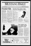 Mustang Daily, November 20, 1990