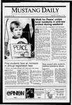 Mustang Daily, January 14, 1991