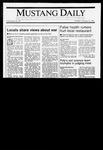 Mustang Daily, January 15, 1991