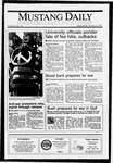 Mustang Daily, January 16, 1991