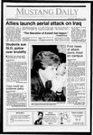 Mustang Daily, January 17, 1991