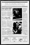 Mustang Daily, January 18, 1991