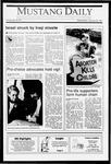 Mustang Daily, January 23, 1991