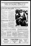 Mustang Daily, January 28, 1991