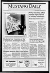 Mustang Daily, January 30, 1991