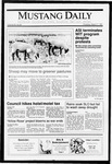 Mustang Daily, March 7, 1991