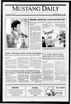 Mustang Daily, March 11, 1991