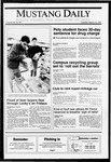 Mustang Daily, March 12, 1991