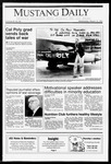 Mustang Daily, March 13, 1991