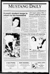 Mustang Daily, April 8, 1991