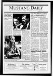 Mustang Daily, April 17, 1991