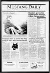 Mustang Daily, April 22, 1991