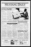 Mustang Daily, April 23, 1991